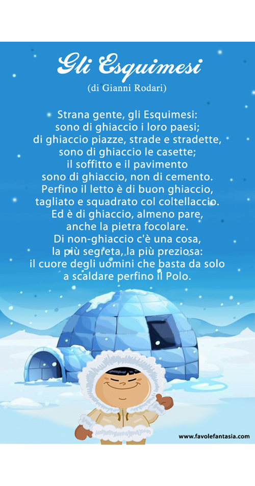 Gli Esquimesi_Gianni Rodari