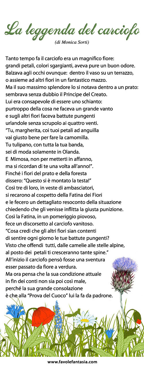 La leggenda del carciofo_Monica Sorti
