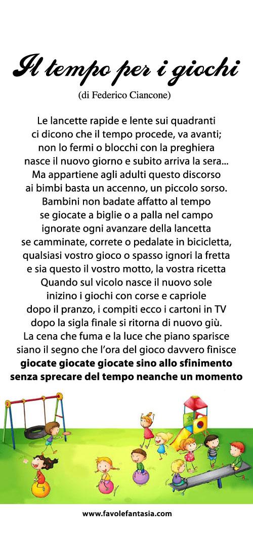 Il tempo per i giochi_Federico Ciancone