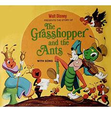 cicala e la formica disney
