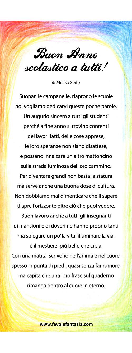 Top Buon Anno scolastico a tutti! | Favole e Fantasia OG43