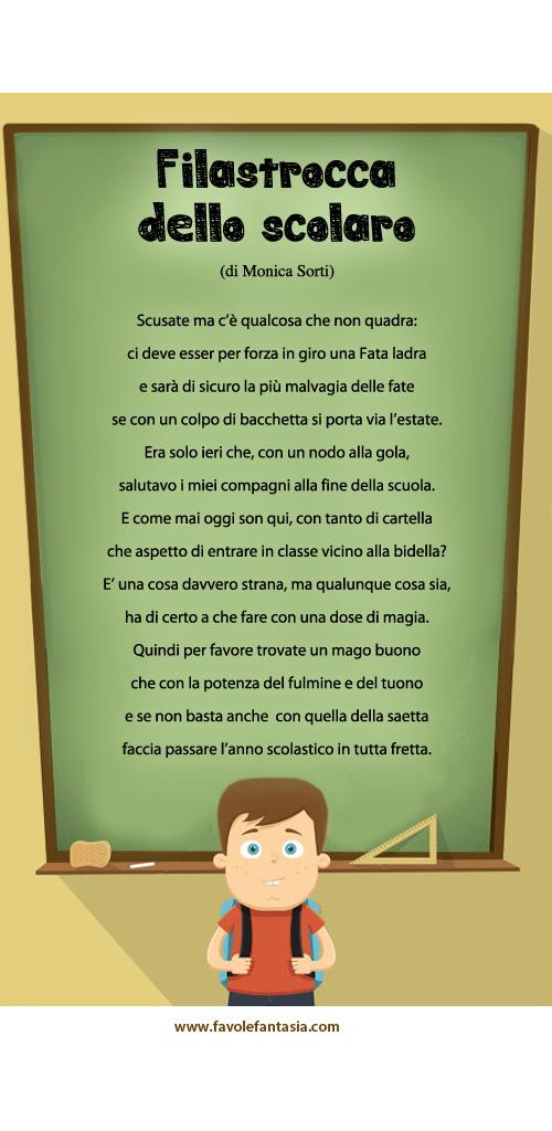 Filastrocca dello scolaro_Monica Sorti