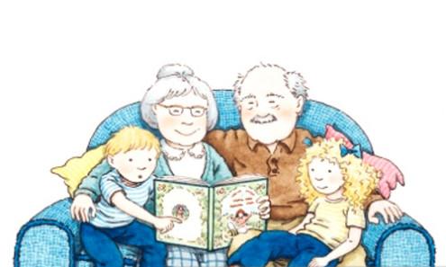 Solo i nonni...
