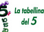 tabellina_del_5 filastrocca