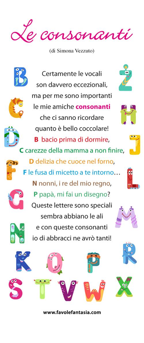 Le consonanti_Simona Vezzuto