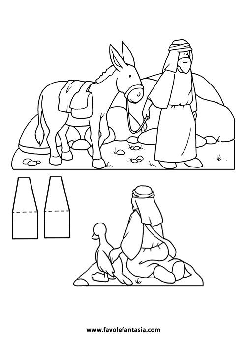pastori da colorare_3