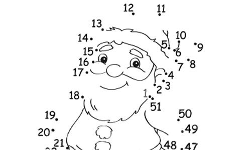 Disegni Di Natale Da Unire Con I Puntini.Giochi Di Natale Unisci I Puntini Favole E Fantasia