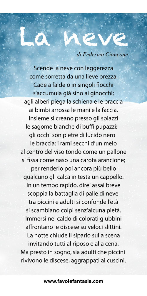 La neve_Federico Ciancone