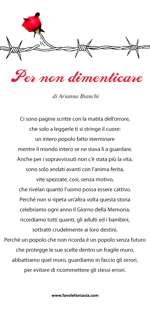 Per non dimenticare_Arianna Bianchi