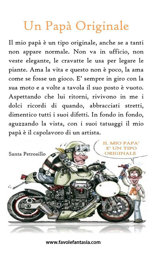 Un papà originale_santa Petrosillo