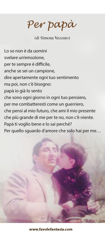 per papà_Simona Vezzuto