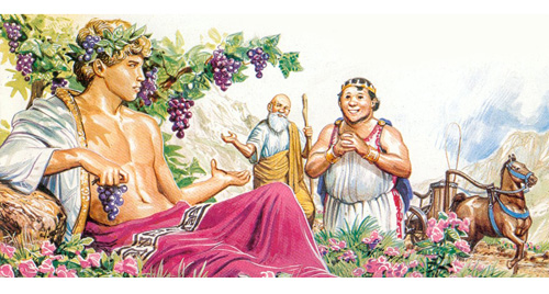 Re Mida e Bacco