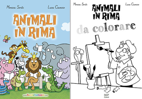 animali in rima_Luca Ciancio cover
