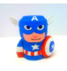 Capitan America_tappo di sughero_Luca Ciancio