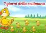 I giorni della settimana_Santa Petrosillo