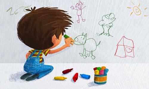 Capire I Disegni Dei Bambini Favole E Fantasia