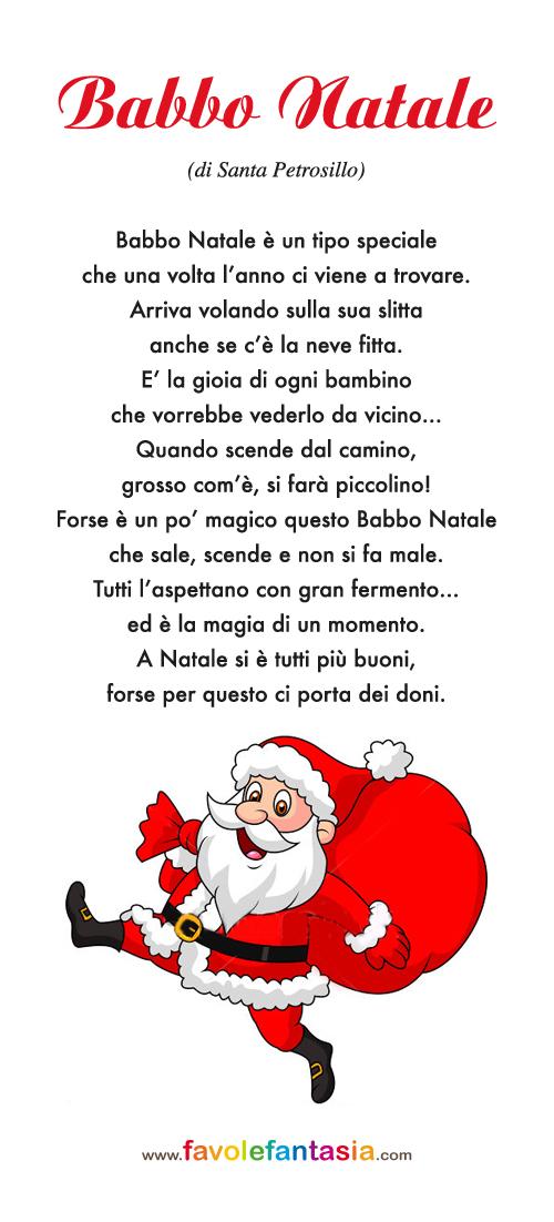 Filastrocca Di Babbo Natale.Babbo Natale Favole E Fantasia
