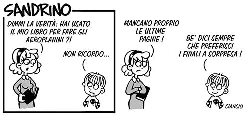 Sandrino_striscia_Luca Ciancio